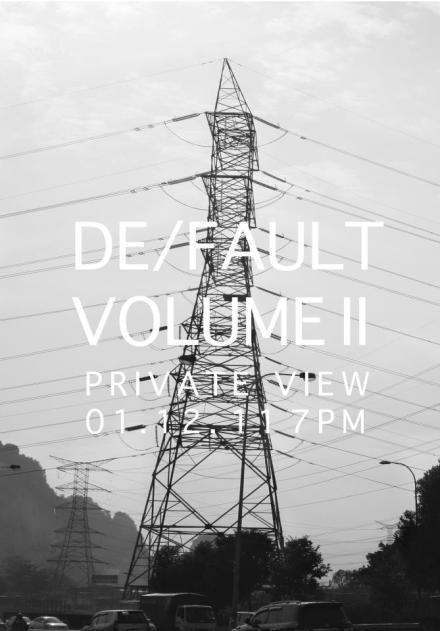 DE:FAULT flyer